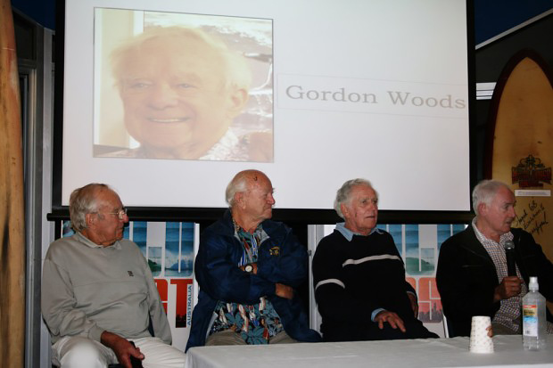 Pioneers Night - Gordon Woods, Joe Larkin, Bill Wallace and Ken Wiles