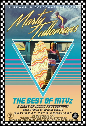 'The Best of MTVz' A celebration of the iconic surf photography of Marty Tullemans