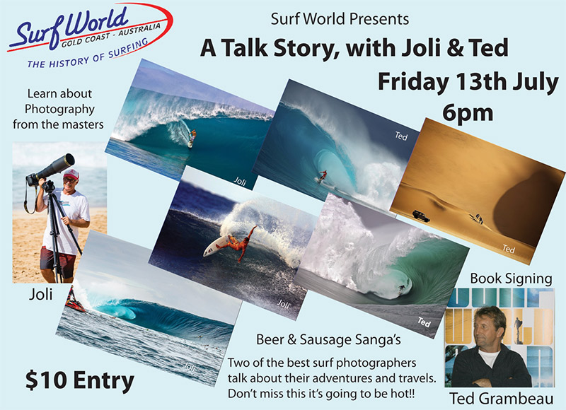 A Talk Story with Joli & Ted - Friday, July 13th