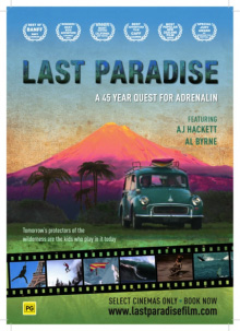 Last Paradise film screening, Surf World's last event for 2014!
